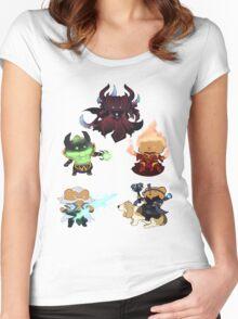 Dota 2 Best Bers Women's Fitted Scoop T-Shirt