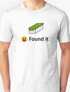 Found It - Geocache Box & Smiley Face Icon Unisex T-Shirt