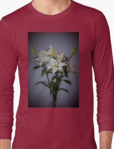 Lilies in Vase Long Sleeve T-Shirt