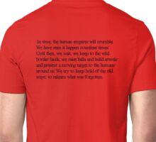 Dragon Age Elven Quote Unisex T-Shirt