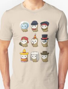 Owls in Hats T-Shirt