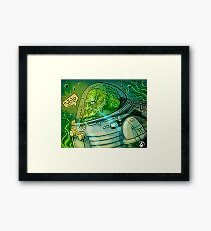 Fishmonkey! Framed Print