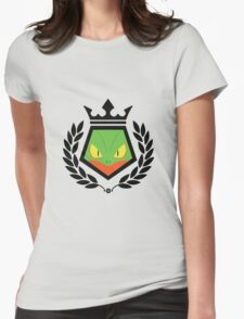 Grass Fighter Womens Fitted T-Shirt