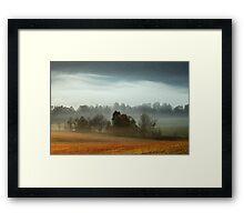 Cades Cove Morn Framed Print