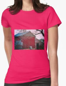 This Old Barn Womens Fitted T-Shirt