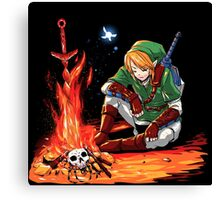 Dark link Canvas Print