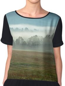 Misty Valley Chiffon Top