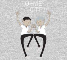 U+ME=OTP KAWOSHIN One Piece - Short Sleeve