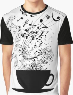 Cup of Music Graphic T-Shirt