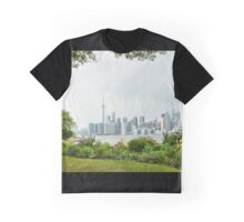 An Island Garden with a View Graphic T-Shirt