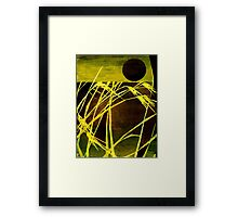 Lazing In The Corn 2 Framed Print