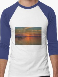 Sunset on the Bay 2 Men's Baseball ¾ T-Shirt