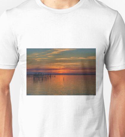 Sunset on the Bay 2 Unisex T-Shirt