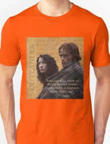 Outlander/Jamie & Claire Fraser/Diana Gabaldon T-Shirt