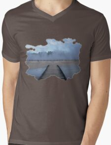 Go Explore Mens V-Neck T-Shirt