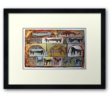 Pet Store Framed Print