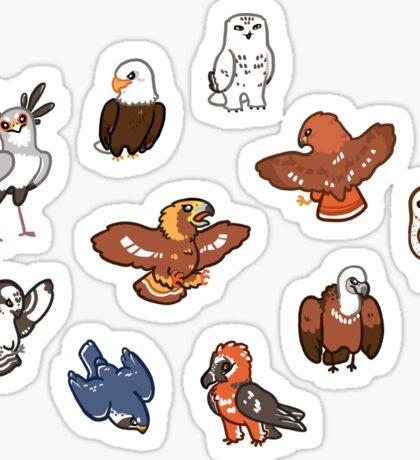 Birbs of Prey Sticker
