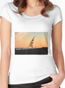 Sunset Memories Women's Fitted Scoop T-Shirt