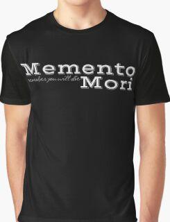 Memento Mori Graphic T-Shirt