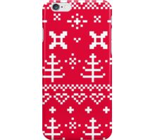 Beautiful Sweden design ♥♥ red iPhone Case/Skin