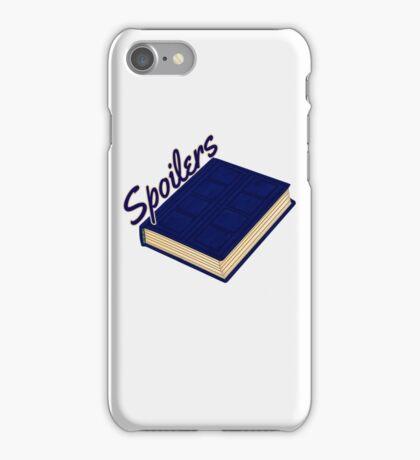 Tardis Journal SPOILERS iPhone Case/Skin