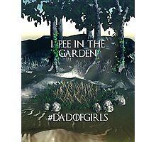 Dad of Girls Photographic Print