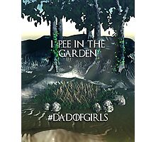 Dad of Girls Photographic Print