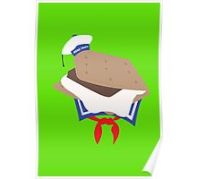 Stay Puft S'more Poster