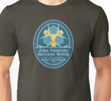 Hipsters of Hyrule - Zora Fountain Artesian Water Unisex T-Shirt