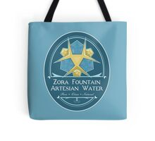 Hipsters of Hyrule - Zora Fountain Artesian Water Tote Bag