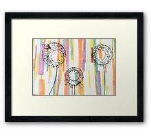 Spring Dandies Framed Print