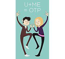U+ME=OTP 10xROSE Photographic Print