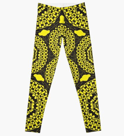 The bat Pattern Leggings