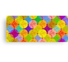 coloured dots Canvas Print