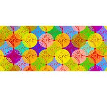coloured dots Photographic Print