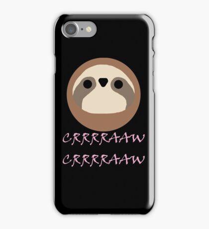 Nora - Sloth Noises 1 iPhone Case/Skin