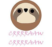 Nora - Sloth Noises 1 Photographic Print