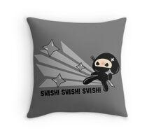 Swish!!! Throw Pillow