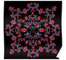 Spider motif Poster