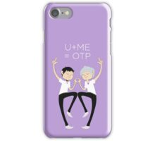 U+ME=OTP KAWOSHIN iPhone Case/Skin