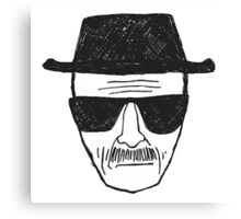 Breaking Bad - Walter White - Heisenberg Canvas Print
