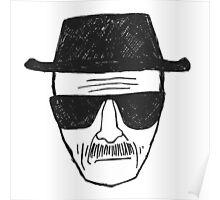 Breaking Bad - Walter White - Heisenberg Poster