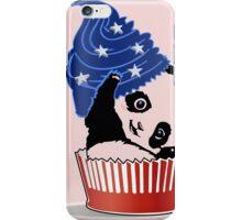 Panda America Cupcake  iPhone Case/Skin