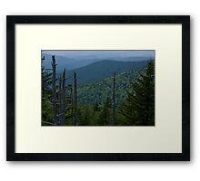 Mountain Twilight  Framed Print