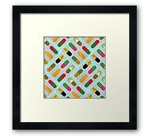 FruitPills Framed Print
