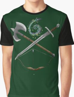 Dungeons & Dragons Weapons Graphic T-Shirt