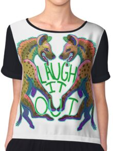 Laugh it Out Chiffon Top