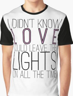 Leave the Lights On Graphic T-Shirt