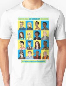 #sixseasonsandamovie T-Shirt