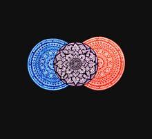 Triple Mandala (Horizontal)  Unisex T-Shirt
